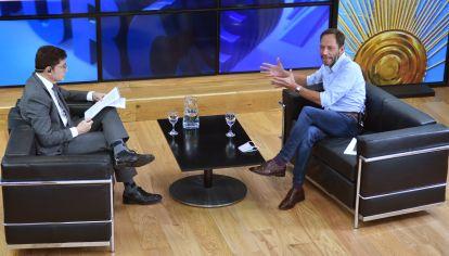 Jorge Fontevechia entrevista a Maximiliano Ferraro