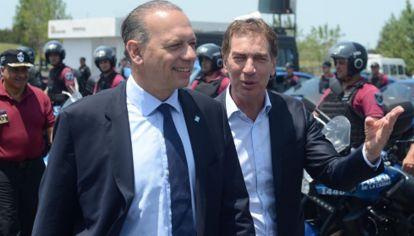 Sergio Berni y Diego Santilli