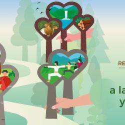 """El lema para la campaña de este año es """"Restauración forestal: un camino a la recuperación y el bienestar""""."""