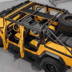 Todo el conjunto le otorga al vehículo una apariencia robusta y muy atractiva.