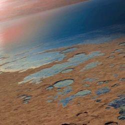 Durante mucho tiempo la teoría más fuerte afirmaba que el agua había escapado hacia el espacio.