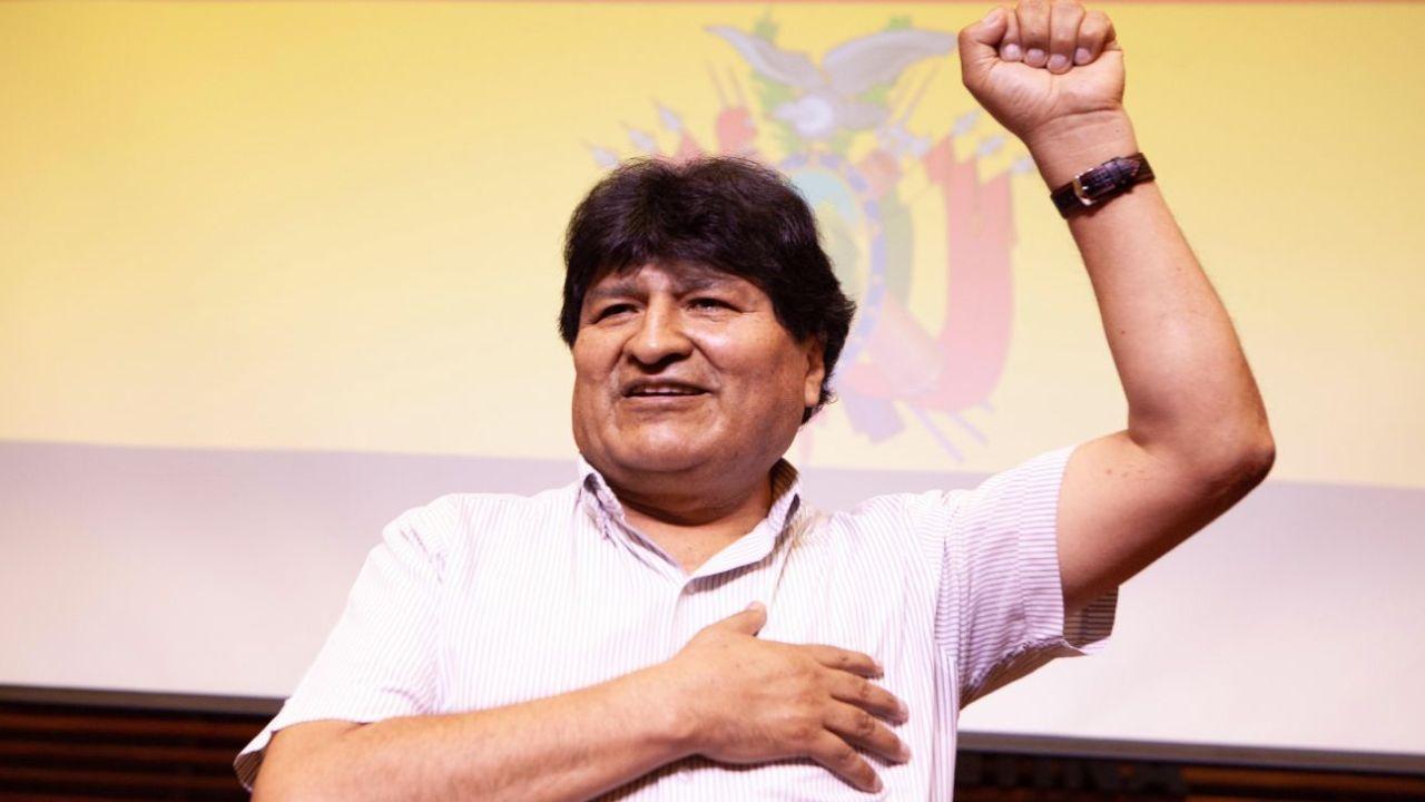 Evo triunfal. La investigación por el golpe en su contra se lleva presos a los opositores. | Foto:DPA