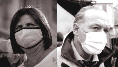 Patricia Bullrich/Sergio Berni