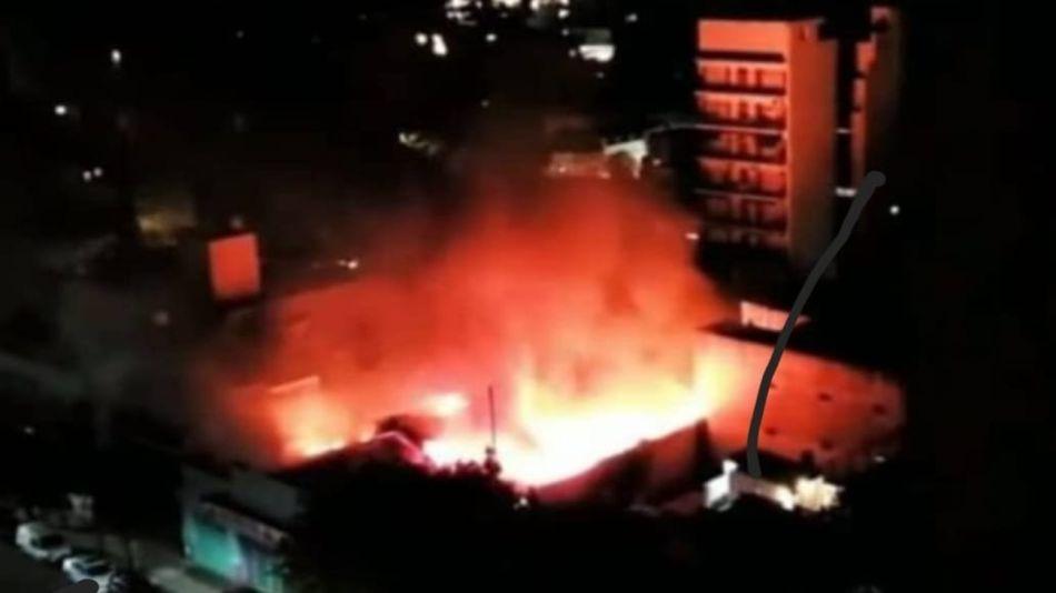 Incendio Supermercado Villa Urquiza