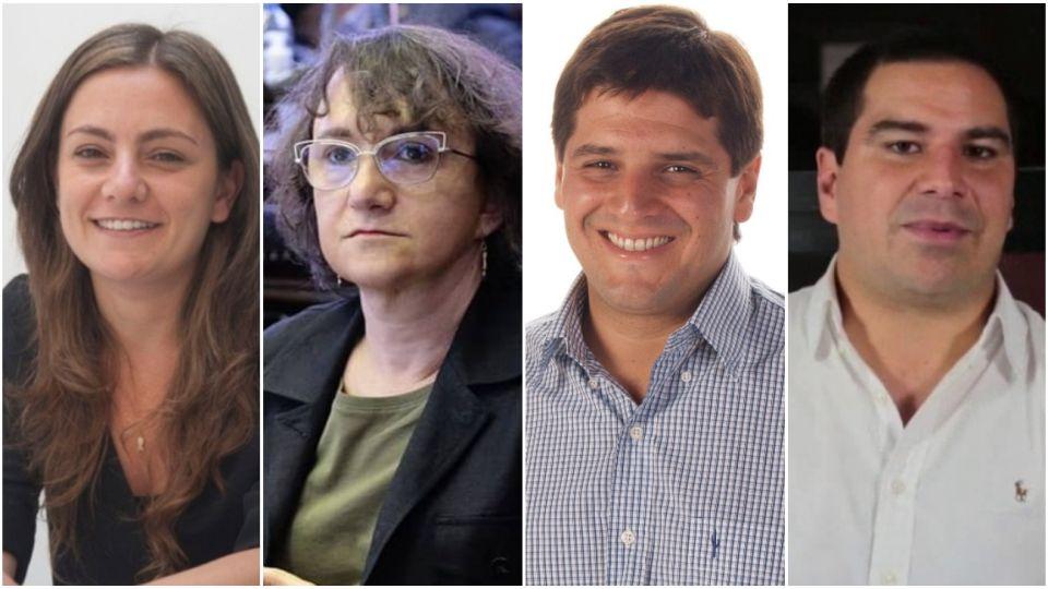 Vanesa Siley, Mara Brawer, Lisandro Bormioli, y Nicolás Rodríguez Saá. Todos con covid-19.