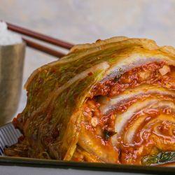 El kimchi, la preparación coreana que fue declarada patrimonio cultural e inmaterial por la Unesco.