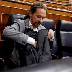 Pablo Iglesias en el Congreso de los Diputados | Foto:elPeriódico/ josé Luis Roca
