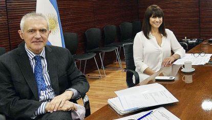 Dupla. Álvarez y Lufrano lideran RTA. Hasta ahora responsabilizan a otros directivos y gerentes.