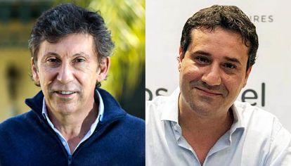 Pugna. Gustavo Posse y Maximiliano Abad competirán mañana por la conducción del radicalismo bonaerense.