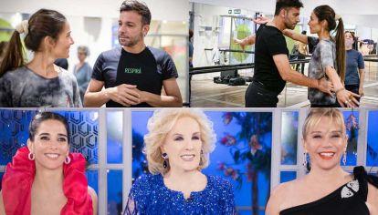 Apertura. Ayer, Juana Viale y Martín Bossi grabaron la apertura que se emitirá antes del primer programa. La actriz vuele a conducir luego de finalizar el ciclo 2020 con a su madre y su abuela.