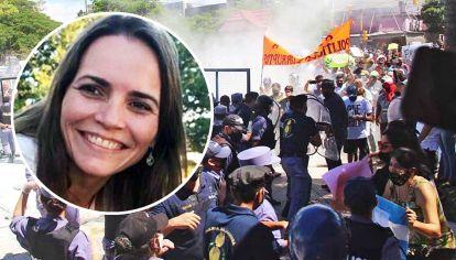 Sigue la tensión. Aunque sin la violencia de la primera marcha, en Formosa sigue la tensión por las medidas que viene tomando Insfrán. La jueza López Mace lo obliga a reformularlas.
