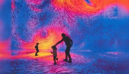 """El cambio. Ya no se tratará de estar frente a una obra de arte, sino de estar dentro, """"inmersos"""" en ella, habitándola y, por lo tanto, disfrutándola de un modo del todo diferente."""