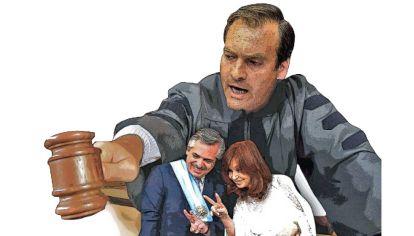 Martín Soria. Puede que no resuelva los problemas de CFK, pero al menos habrá una escenificación sobre el lawfare que Losardo se negó a hacer.