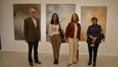DETRÁS DEL MUSEO. Sebastián Martínez Villada, Solange Bendjeunian, Susana Withrington y María José Herrera.