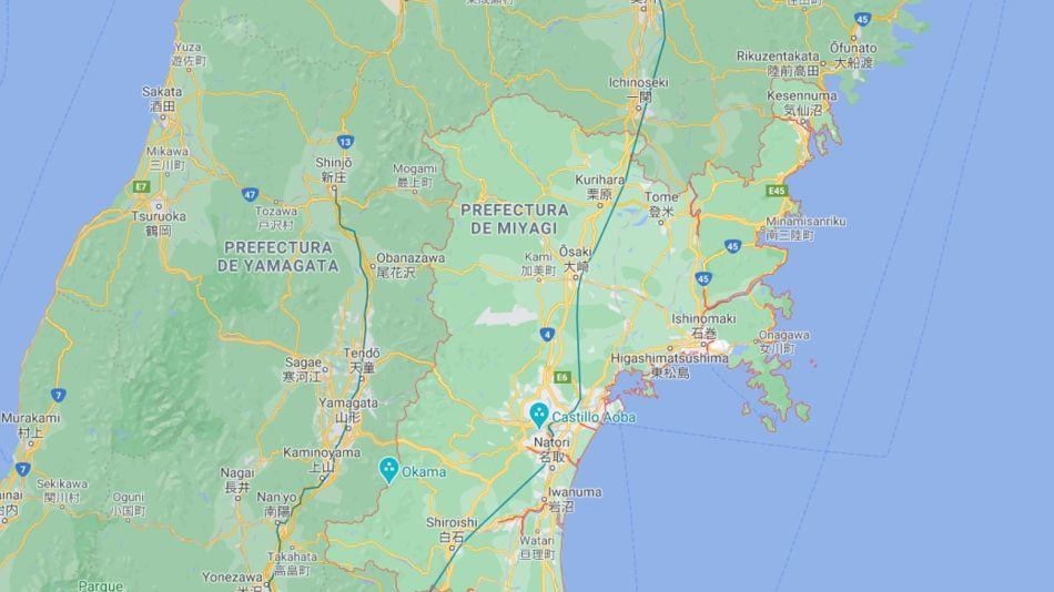 Un terremoto de 7,2 grados sacudió el noreste de Japón este sábado 20 de marzo de 2021.