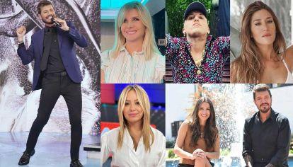 Equipo. Débora Plager, el Polaco, Jimena Barón y Karina la Princesita son algunas de las figuras que estarán este año. También Pampita, que ya firmó su contrato y se prepara para ser parte del jurado.