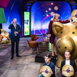 La reina holandesa Máxima participa en un evento de lanzamiento de la    Foto:Frank van Beek / POOL / AFP