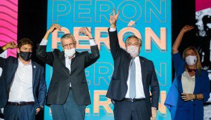Alberto Fernández asumió la presidencia del PJ.