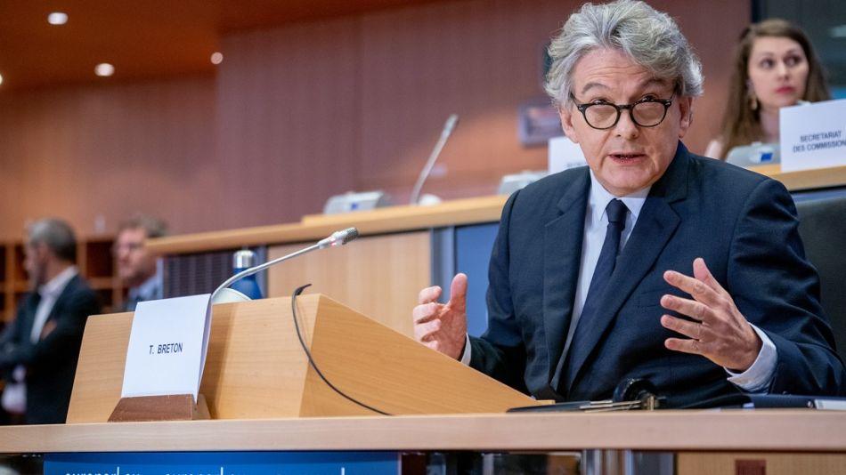 Thierry Breton - Unión Europea - UE - Vacunación
