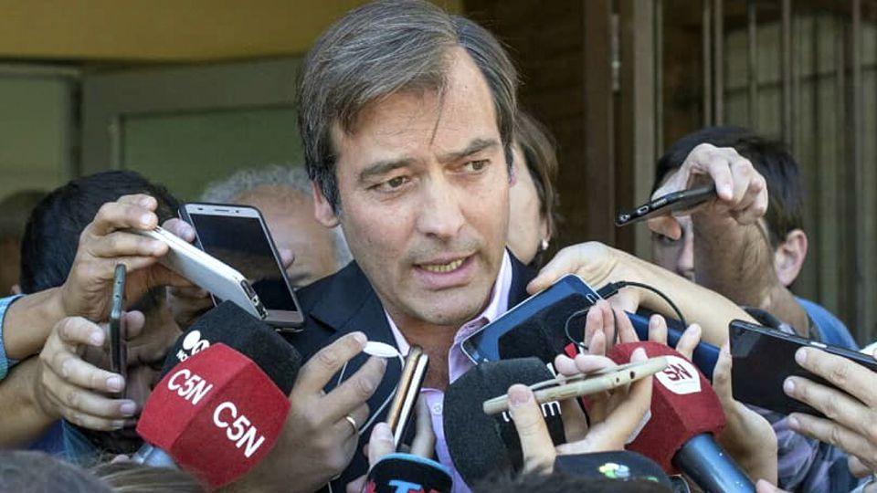 Martín Soria, Ministro de Justicia de la Nación.
