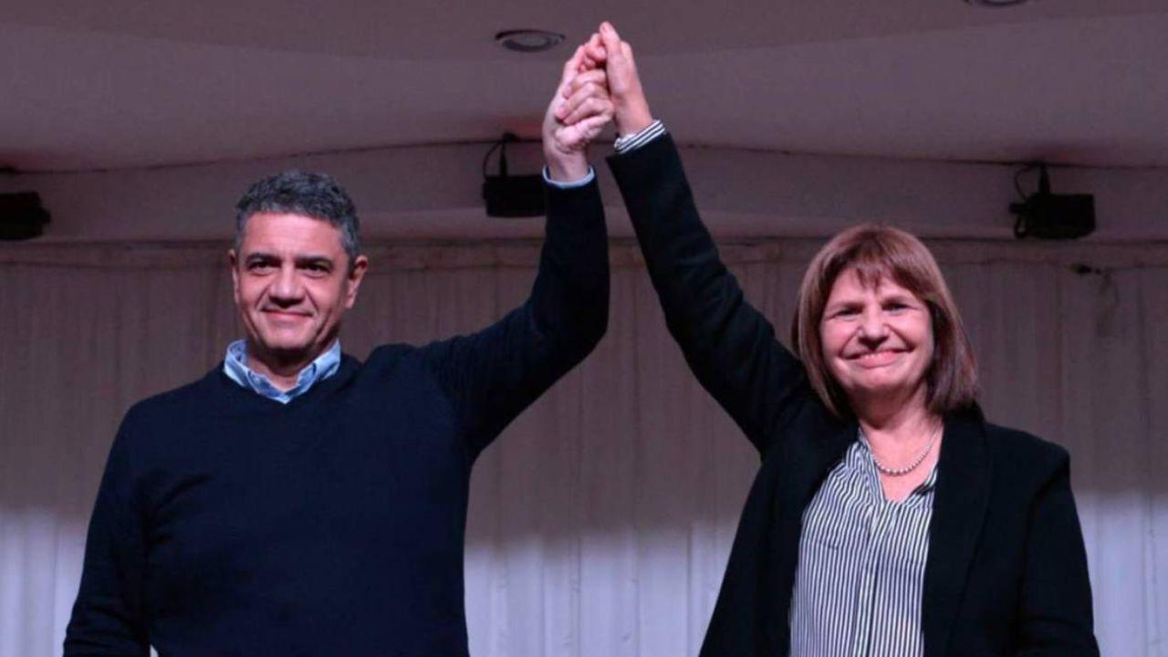 Macri en la presentación del libro de Bullrich en su distrito.  | Foto:Vicente López