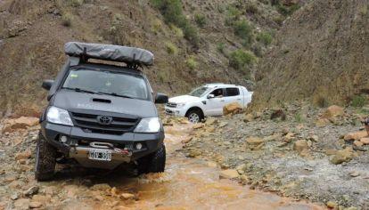 Travesía 4x4 a Corona del inca y mina La Mejicana, La Rioja.