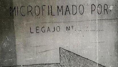 Microfilmado por