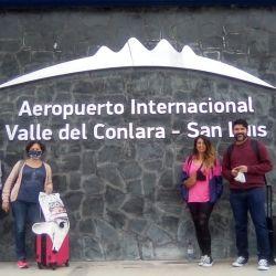 El aeropuerto de Santa Rosa del Conlara une Buenos Aires con Merlo a través de un vuelo de LADE.