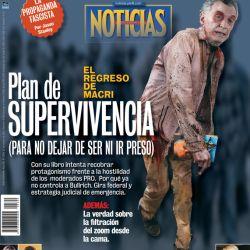 Tapa Nº 2309: El regreso de Mauricio Macri | Foto:Pablo Temes
