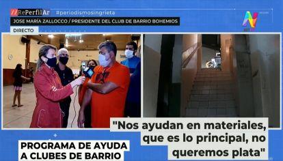 Entrevista a Zallocco, Club Bohemio de La Boca