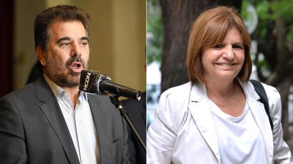 Cristian Ritondo y Patricia Bullrich 20210325
