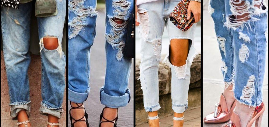 Así de fácil podés gastar tus jeans y reusarlos