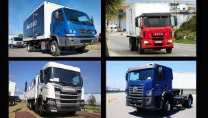 Estos son los camiones más vendidos de la Argentina