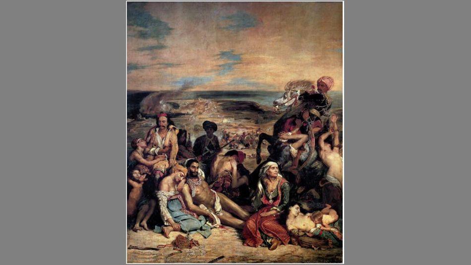 La Matanza de Quíos - Eugène Delacroix 20210326