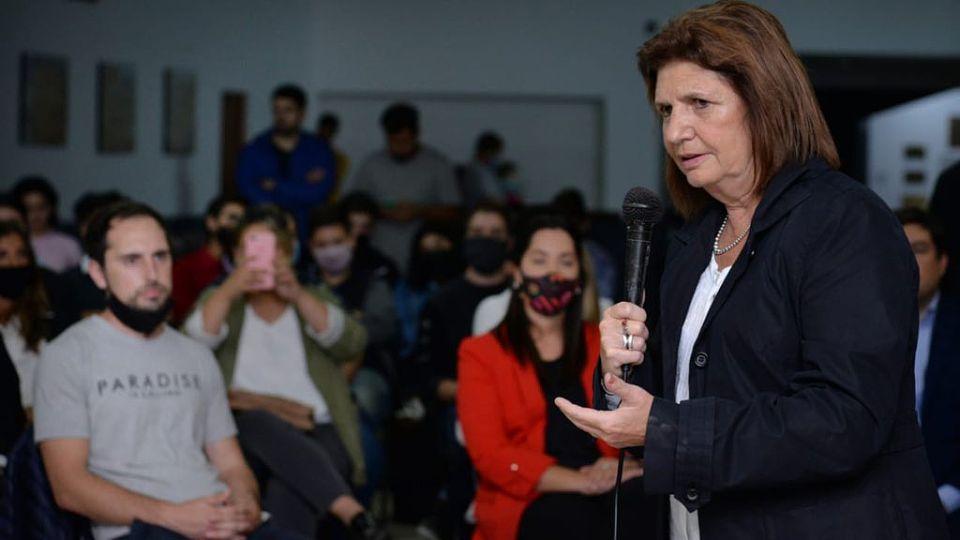 Patricia Bullrich, presidenta del PRO.