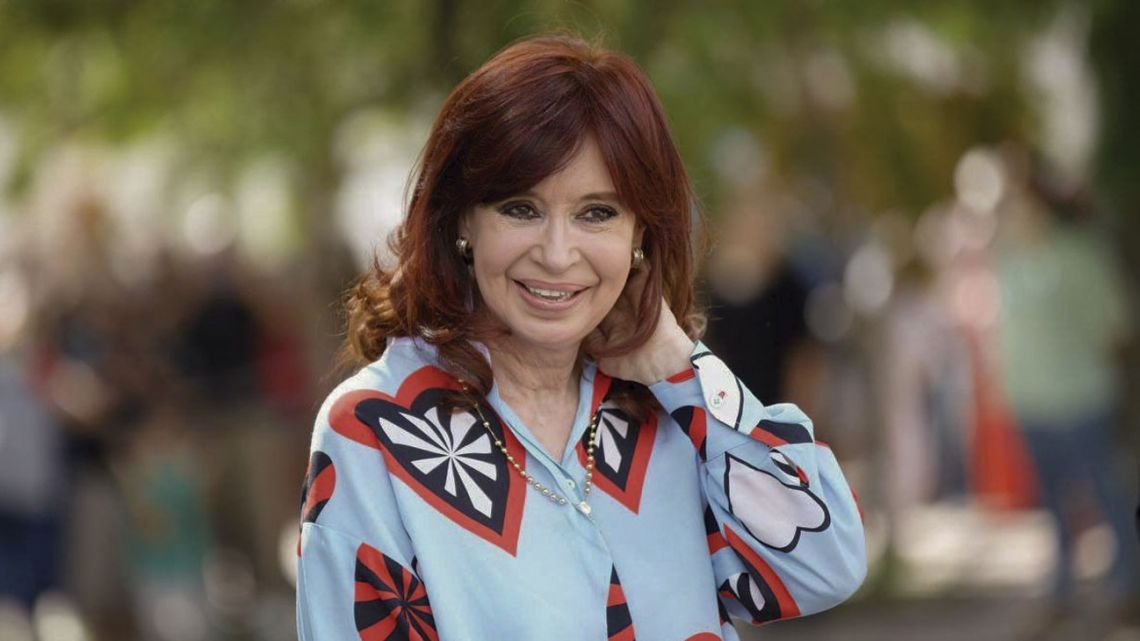 Vice-President Cristina Fernández de Kirchner, pictured at a March 24 commemorative event in Las Flores, Buenos Aires Province, on Wednesday.