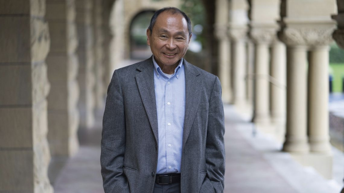 US political scientist Francis Fukuyama.