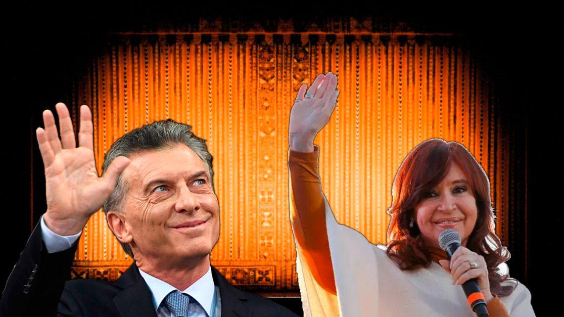 Former President, Mauricio Macri and VP Cristina Kirchner.