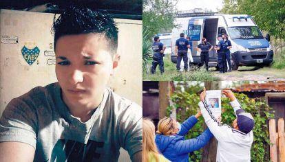 ¿Dónde está?. El joven que ayer cumplió 22 años fue visto con vida por última vez en Alejandro Korn, donde se encontró con un hombre que le había ofrecido un trabajo como mozo. Cerca de 300 policías buscan pistas de su paradero en la zona.