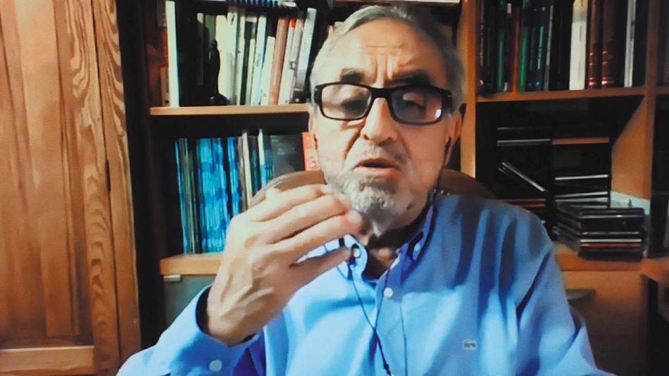 Pedro Cahn, en la entrevista con Jorge Fontevecchia.