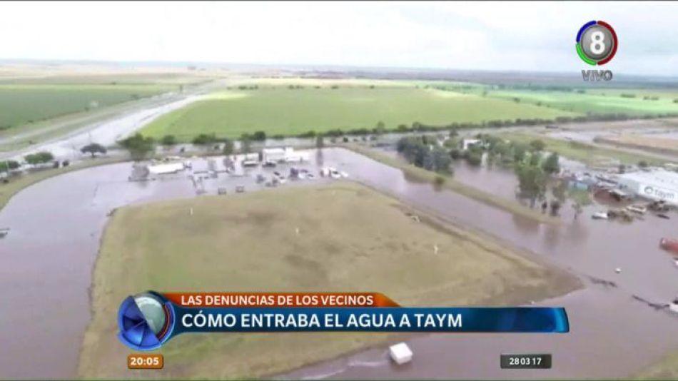 Taym inundada