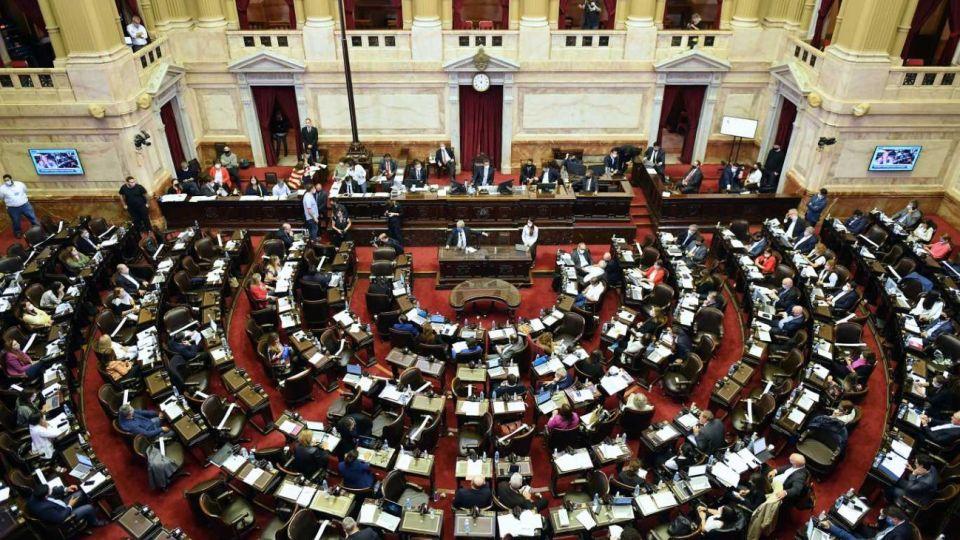 Diputados, en sesión especial por el proyecto de cambios en el impuesto a las Ganancias.