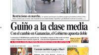 tapa Diario PERFIL domingo 28 de marzo 2021
