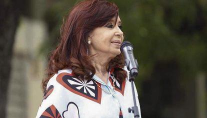 """CFK. Afirmó que """"nuestro espacio político nunca endeudó a la Argentina."""""""