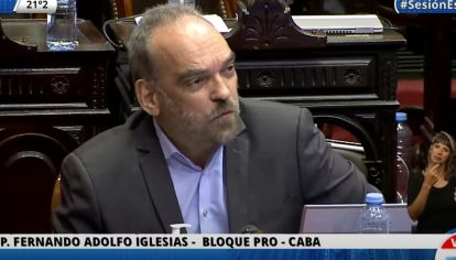 El diputado Fernando Iglesias.