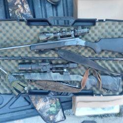 Los tres cazadores detenidos tenían un gran arsenal en su poder.