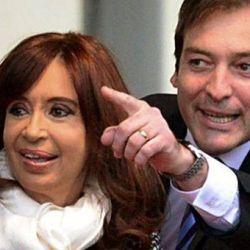 Cristina Kirchner y Juan Soria.