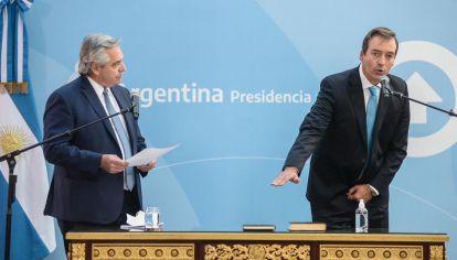Jura del nuevo Ministro de Justicia Martín Soria