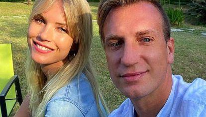 El confuso mensaje de la novia de Maxi López en medio del conflicto de Wanda Nara y Mauro Icardi