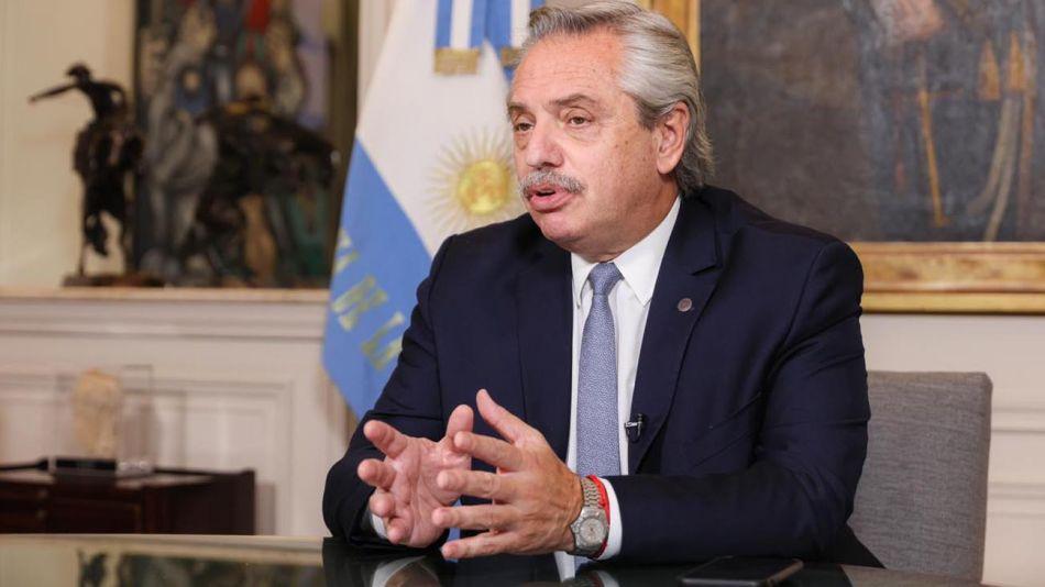 Alberto Fernández en el Foro de Financiamiento del Desarrollo